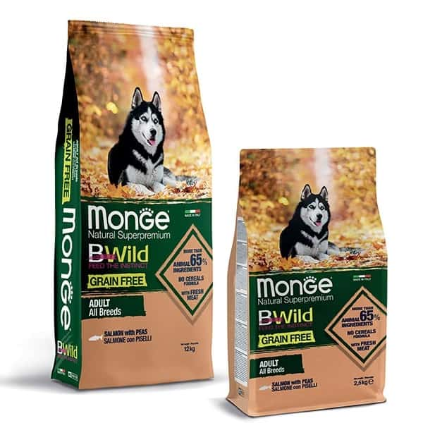 monge wolf of wilderness hundefutter