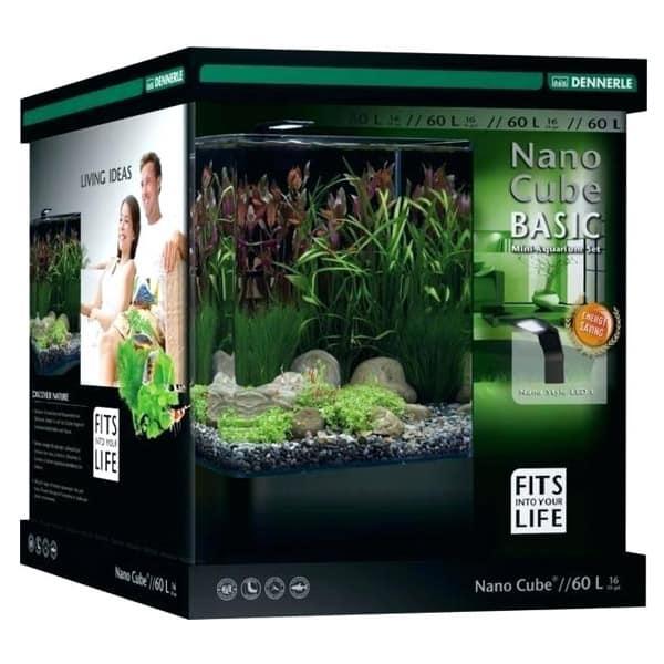 nano cube aquarium 60l dennerle led 235862