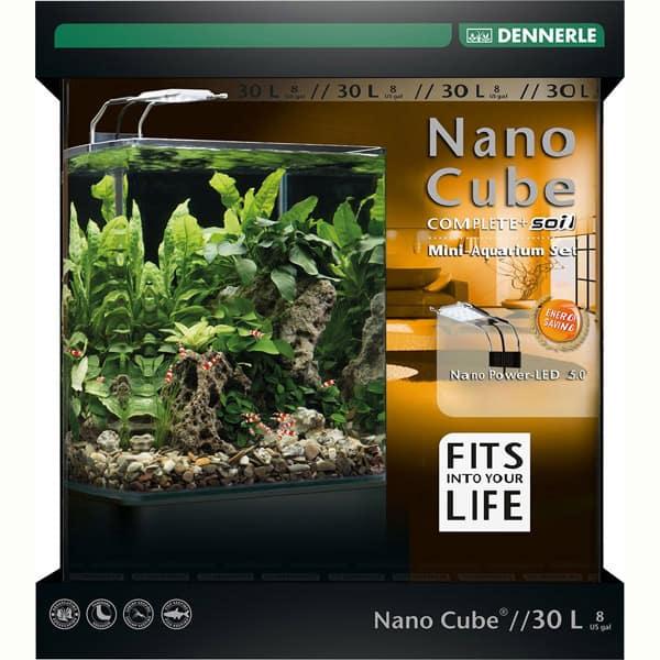 nano cube dennerle komplett set 30l