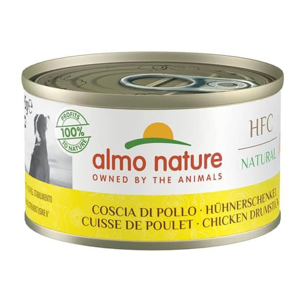 natural dog Hundefutter hfc almo nauture