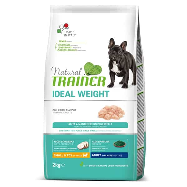 natural trainer ideal weight hundefutter