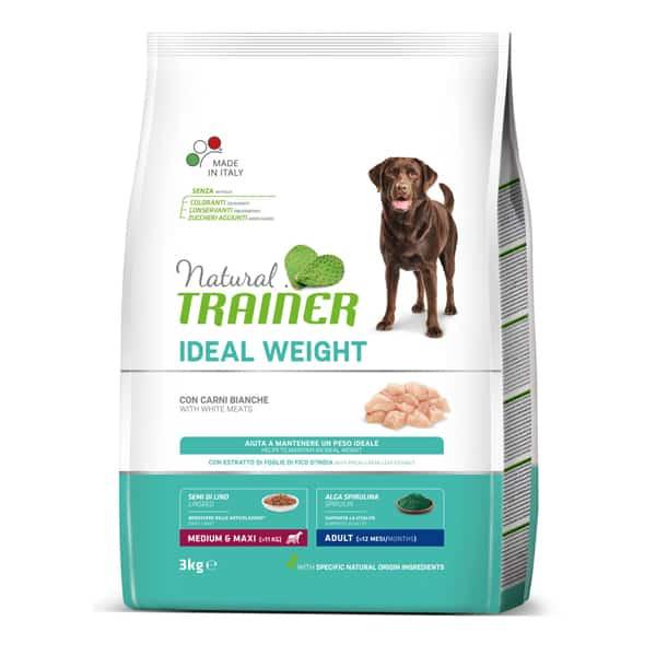 natural trainer ideal weight medium maxi hundefutter