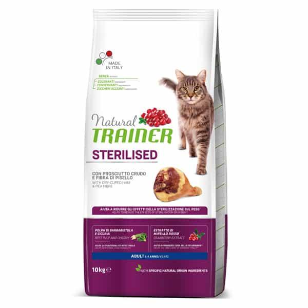 natural trainer sterilised katzenfutter