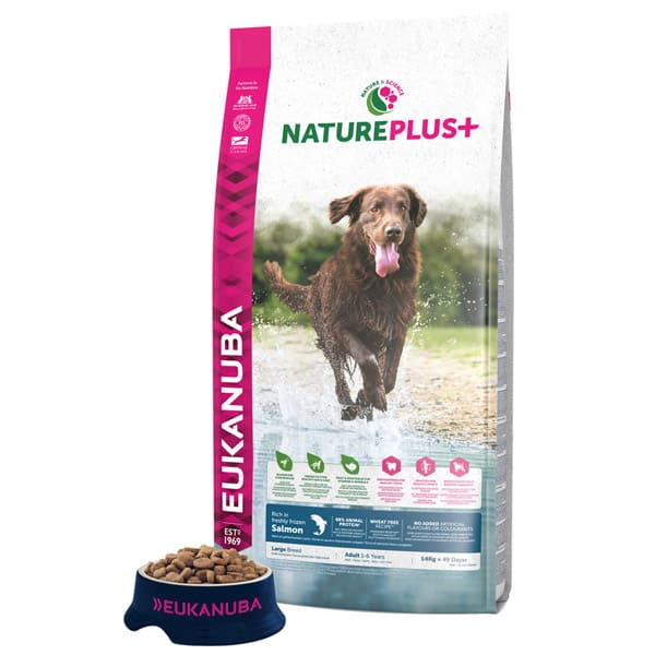 natureplus hundefutter eukanuba grosse hunde