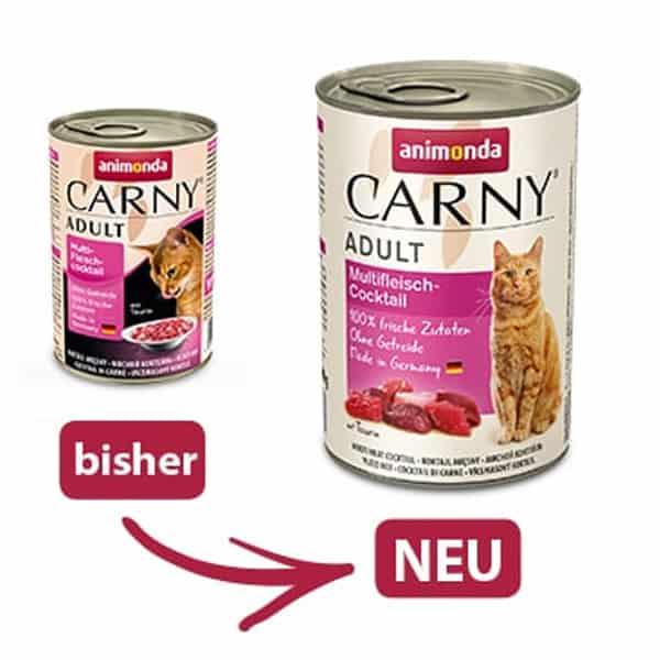 neu animonda carny katzenfutter dose bestellen