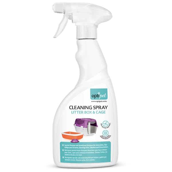 optipet cleaning spray litter box katzenspray