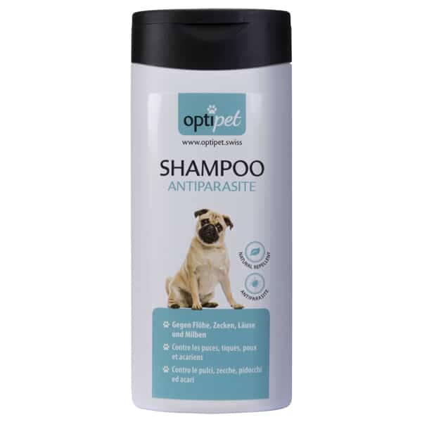 optipet shampoo anitparasite