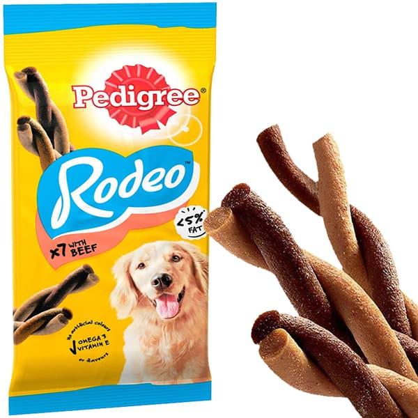 pedigree rodeo hunde snack beef