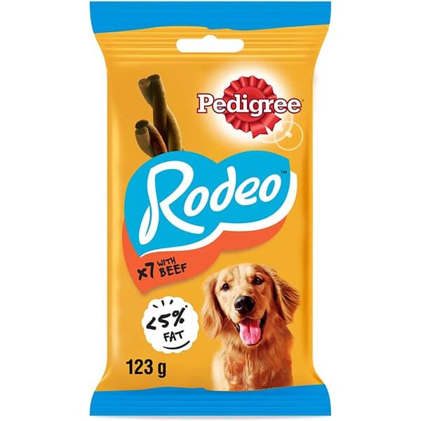 pedigree rodeo snack beef
