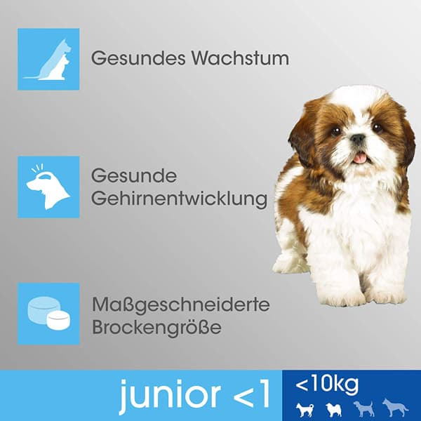 perfect fit junior trockenfutter kleine hunde