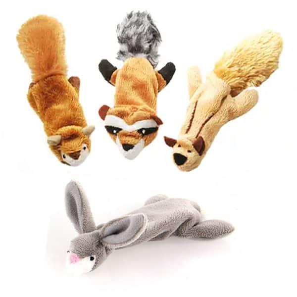 plueschtier katzenspielzeug mit raschel und catnip