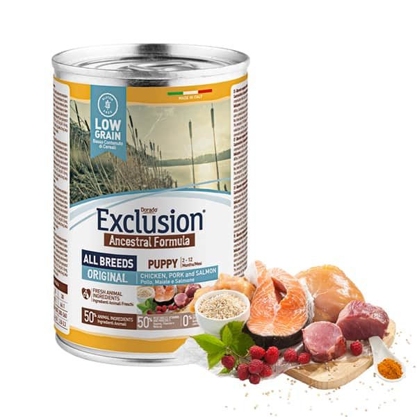 puppy exclusion hundefutter ancestral
