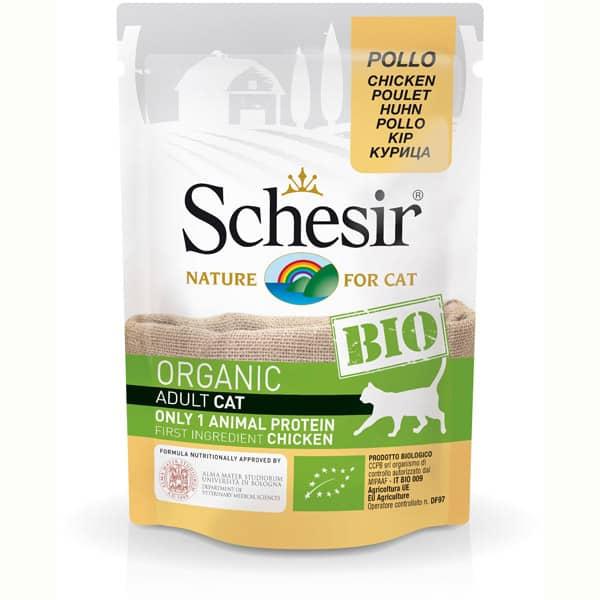 schesir bio katze organic huhn