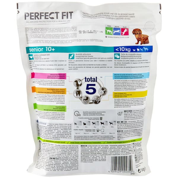 senior perfrct fit trockenfutter hunde