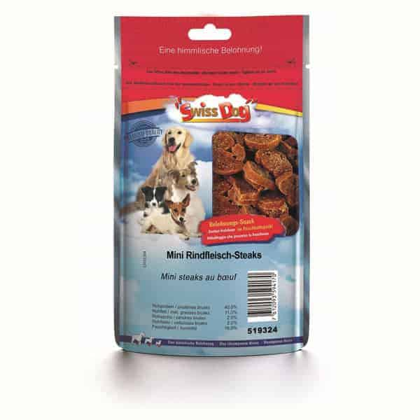 swissdog mini rindfleisch steaks