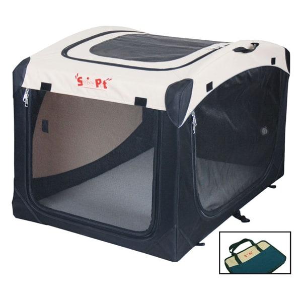 swisspet faltbare hundebox linus klappbar transportbox