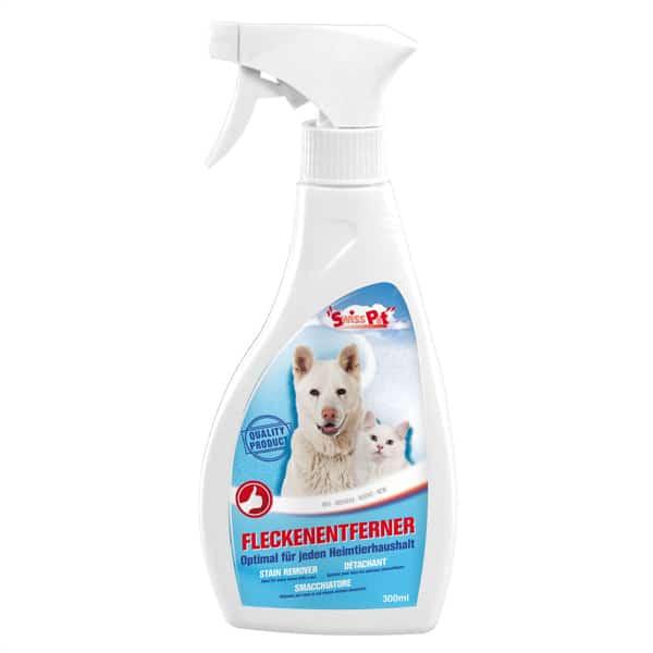 swisspet fleckenentferner spray hunde katzen