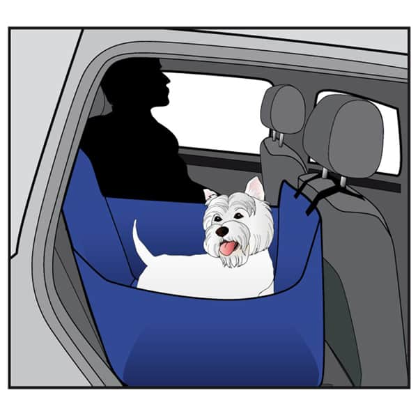 swisspet hunde autositzdecke relax