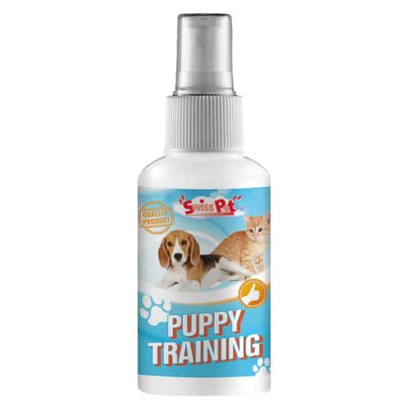 swisspet puppy trainerspray fuer hunde