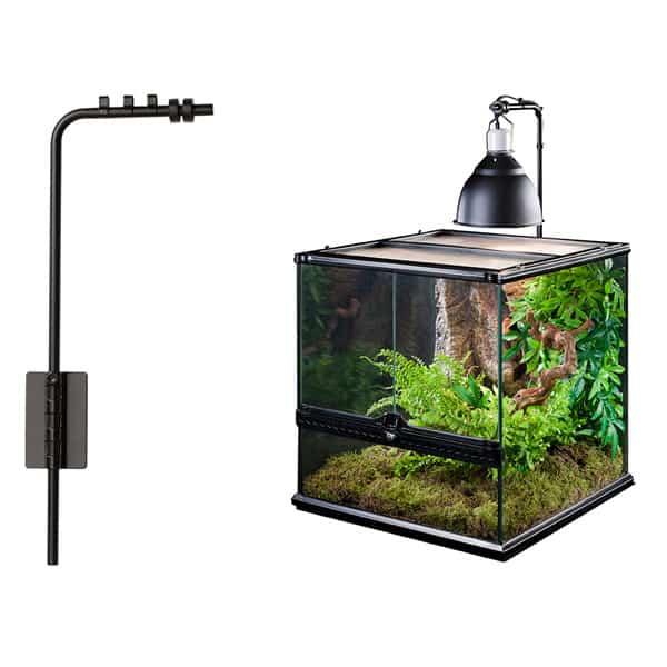 terrarium lampen halterung vorrichtung
