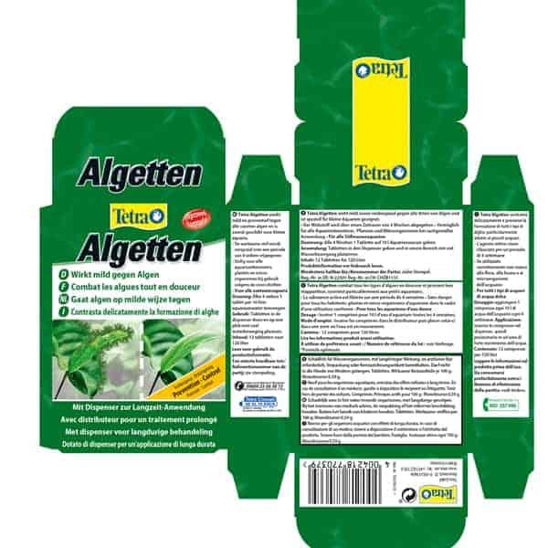 tetra algetten anti algen bildung