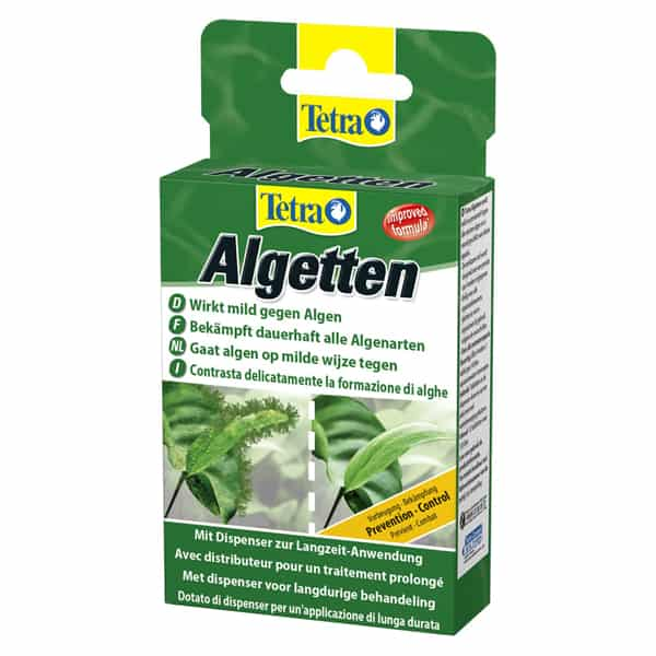 tetra algetten verhinder algen bildung