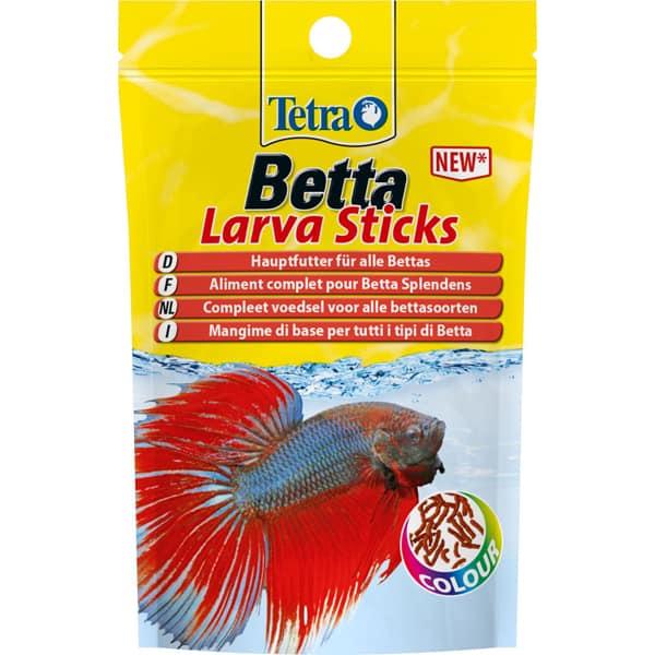 tetra betta larva sticks fischfutter