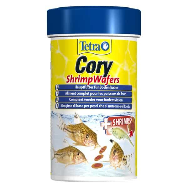tetra cory bodenfische fischfutter shrimp wafers