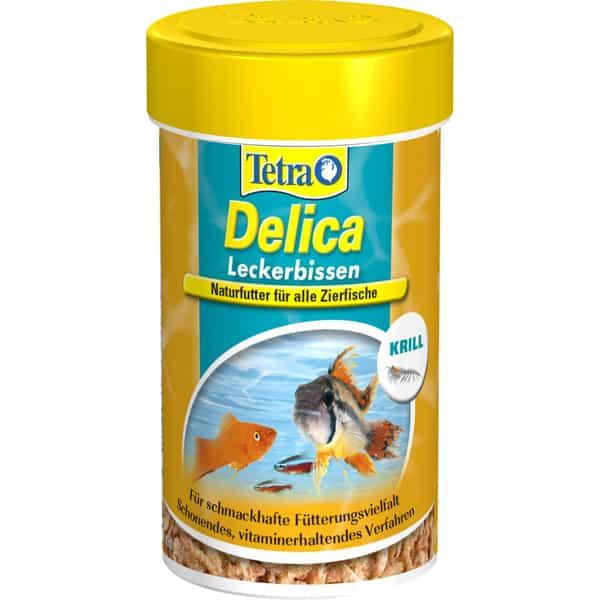 tetra delica krill 100ml frisch fischfutter