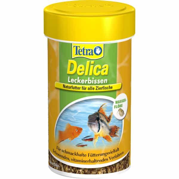 tetra delica wasserfloehe 100ml frischfutter zierfische