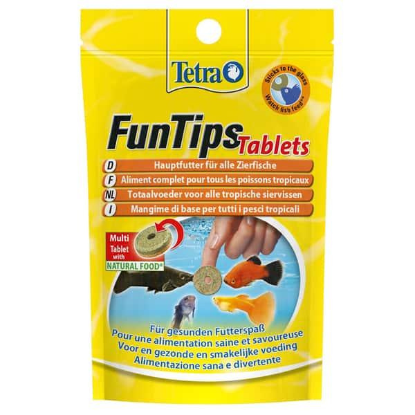 tetra funtips tablets hauptfutter zierfische
