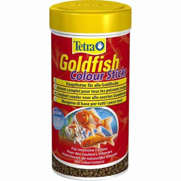tetra goldfish colour sticks fischfutter