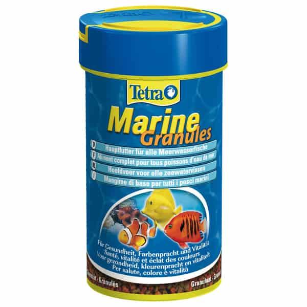 tetra marine granules meerwasserfische hauptfutter