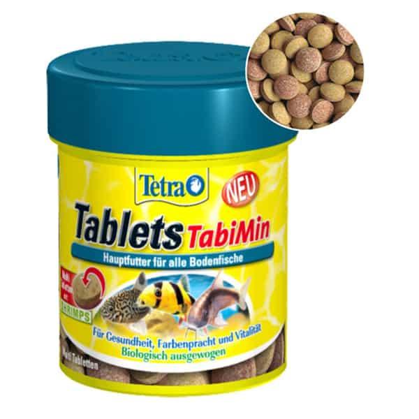tetra tablets tabimin fischfutter tabletten