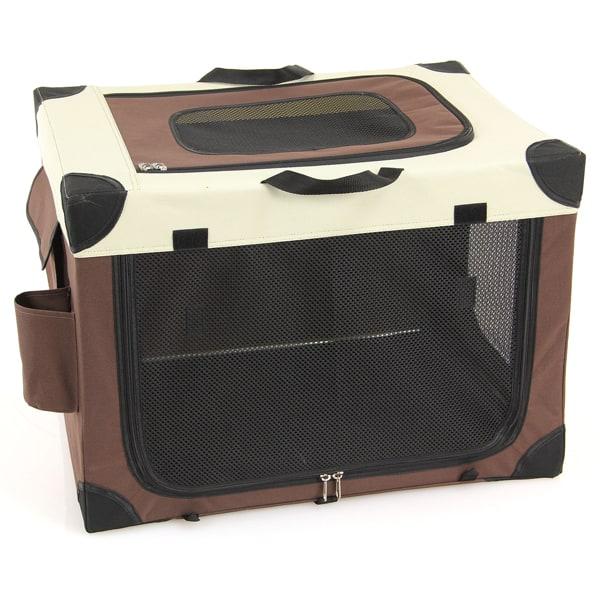 transportbox swisspet zusammenklappbar hundebox
