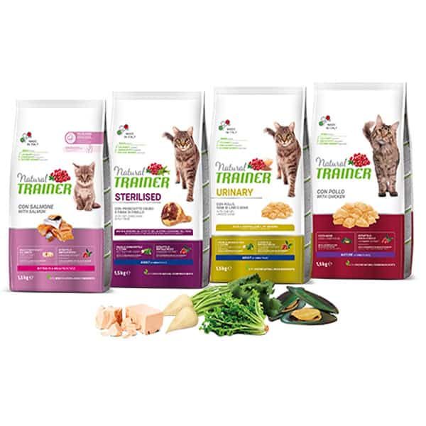 trockenfutter natural trainer young cat katzenfutter
