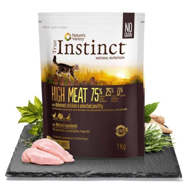 true instinct high meat cat food katzenfutter