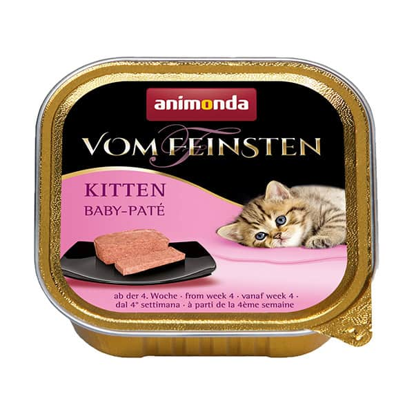 vom feinsten kitten baby pate animonda katzenfutter