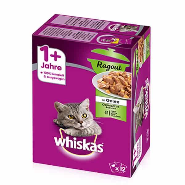 whiskas ragout 1 nassfutter katzen
