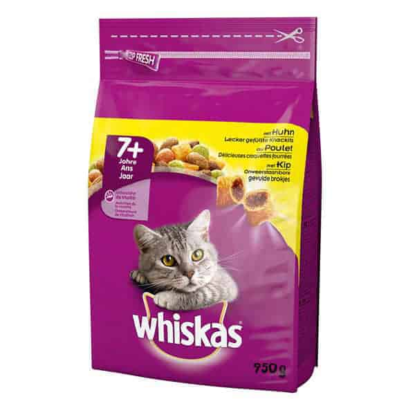 whiskas senior katzenfutter 7 huhn
