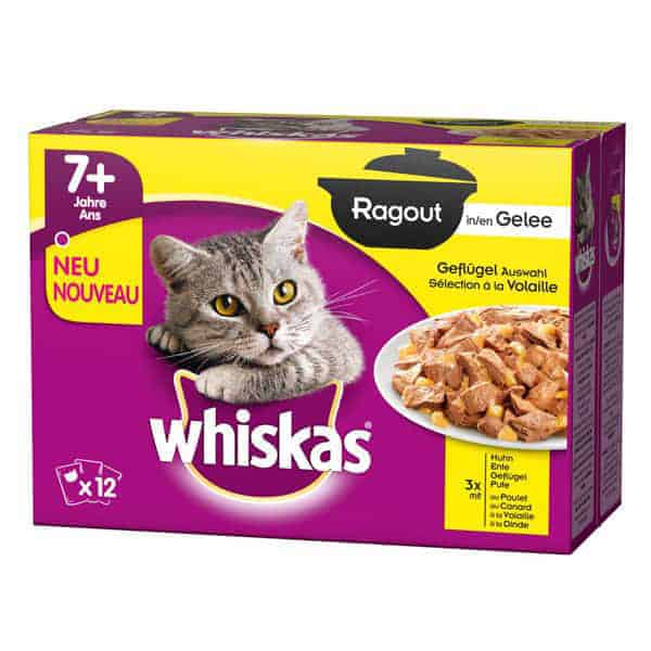 whiskas senior katzenfutter in gelee 7